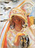 Jeune Fille Collectable Print by Pierre Bonnard
