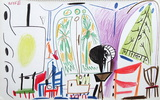 Carnet de Californie 32 Collectable Print by Pablo Picasso