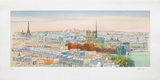 Paris, panorama vers Notre-Dame II Collectable Print by Rolf Rafflewski