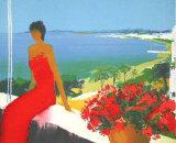 La Baie de Cannes Prints by Emile Bellet