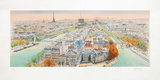 Paris, panorama vers l'Ouest II Limited Edition by Rolf Rafflewski