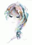 Portrait de jeune fille III Limited Edition by Shan-merry