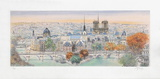 Paris, panorama vers l'Est II Limited Edition by Rolf Rafflewski