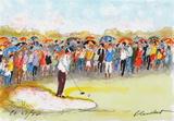 Parcours de Golf I Collectable Print by Urbain Huchet