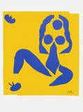 Papiers Decoupes - la Grenouille Collectable Print by Henri Matisse
