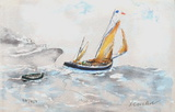 Marine II Collectable Print by Urbain Huchet