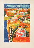 Paysage méditerranéen Limited Edition by Francois Szulman