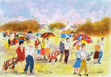 Parcours de Golf II Collectable Print by Urbain Huchet