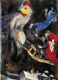 Das Fliegende Pferd Posters by Marc Chagall