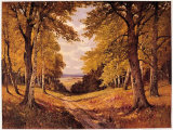Waldidyll Prints by Erich Krueger