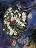 Blumenstrauss Art by Marc Chagall