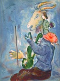 Printemps Collectable Print by Marc Chagall