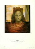 Portrait of Gala Posters af Salvador Dalí