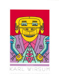Watch Dog Serigraph by Karl Wirsum