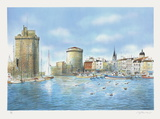 Le Port de La Rochelle Collectable Print by Rolf Rafflewski