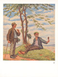 Im Fr&#252;hling Collectable Print by Otto Quante