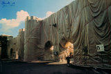 Roman Wall, 1974 Collectable Print by  Christo