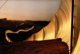 Running Fence no. 4, c.1976 Reproductions pour les collectionneurs par Christo