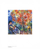 Die Verliebten Collectable Print by Marc Chagall