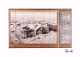 Reichstag X - Signé Reproductions de collection par  Christo