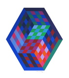 Album Gordes - Tridim Limited Edition by Victor Vasarely