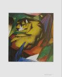 Le tigre Affiches par Franz Marc