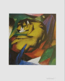The Tiger Posters by Franz Marc