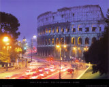 The Colosseum - Rome Art par Andy Williams