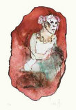 Red Face Limited Edition by Leonor Fini
