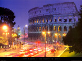 The Colosseum - Rome Poster by Andy Williams