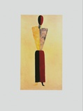 The Girl Prints by Kasimir Malevich