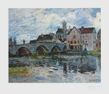 The Bridge of Moret, 1887 Collectable Print by Alfred Sisley