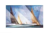 Sejlskibe Plakater af Lyonel Feininger