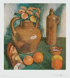 Still Life with Jug Prints by Paula Modersohn-Becker