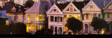 San Francisco - Victorian Houses Art par Chad Ehlers