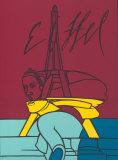 Eiffel Begränsad utgåva av Valerio Adami