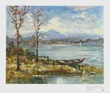 Herbst Am Seehamer See Collectable Print by Andreas Betz