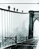 Brooklyn Bridge Climb, 1926 Posters