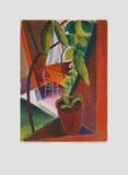 Blick Ins Gartenhaus Sammlerdruck von Auguste Macke