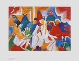 Oriental Art by Wassily Kandinsky