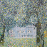 Farm at Oberoesterreich, 1911 Prints by Gustav Klimt