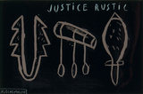 Justice Rustic Limited Edition by Jacques Flechemuller