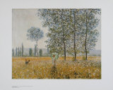 Summer Print by Claude Monet