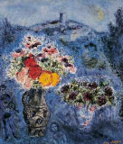 Veilchenstrauss Collectable Print by Marc Chagall