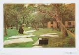 The Bleaching-Ground Art by Max Liebermann
