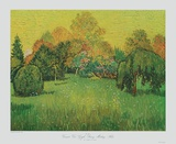 Sunny Day, Arles Collectable Print by Vincent van Gogh