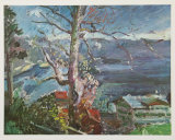Tree at the Walchensee Posters by Lovis Corinth