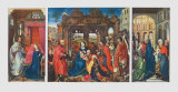 St Columba Altarpiece, c. 1455 Collectable Print by Rogier van der Weyden