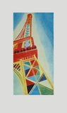 Le Tour Eiffel Collectable Print by Robert Delaunay