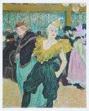 Clownesse Cha-U-Kao, 1895 Posters by Henri de Toulouse-Lautrec